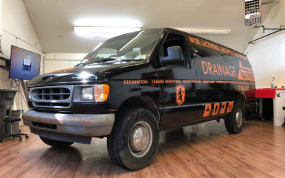 Ford E-350 Custom Print Full Wrap