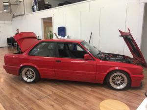 BMW 3 Series - Custom Layered Full Wrap before