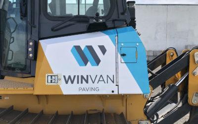 Brandt Excavator – Custom Print Partial Wrap