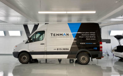 Dodge Sprinter Van – Custom Print Partial Wrap