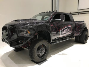 Dodge Ram 3500 Custom Print Full Wrap