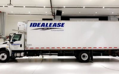 International MV Box Truck – Decal Kit
