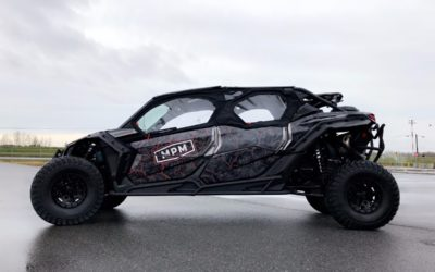 Can-Am Maverick X3 Max X – Custom Print Full Wrap