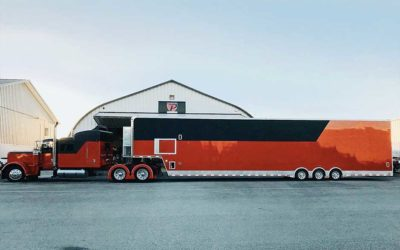 Semi-Trailer Toy-Hauler – Layered Full Wrap